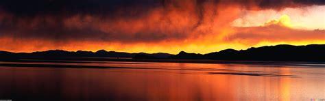 sunset orange orange sunset wallpaper 17595 open walls