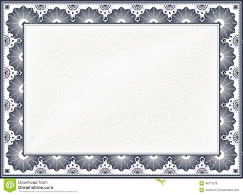 border card template certificate border diploma blank vintage vector template