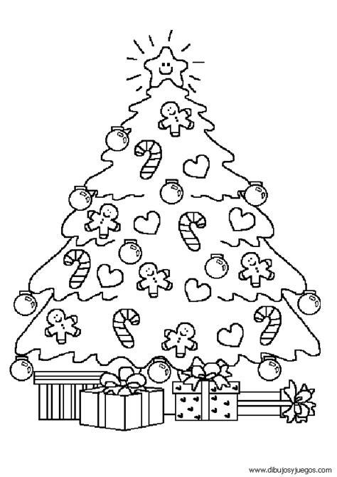 imagenes para pintar arbol de navidad dibujo de arbol navidad 005 dibujos y juegos para