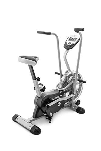 marcy air 1 fan exercise bike marcy exercise upright fan bike for cardio training and