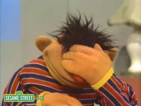 Facepalm Meme - ernie facepalm facepalm know your meme
