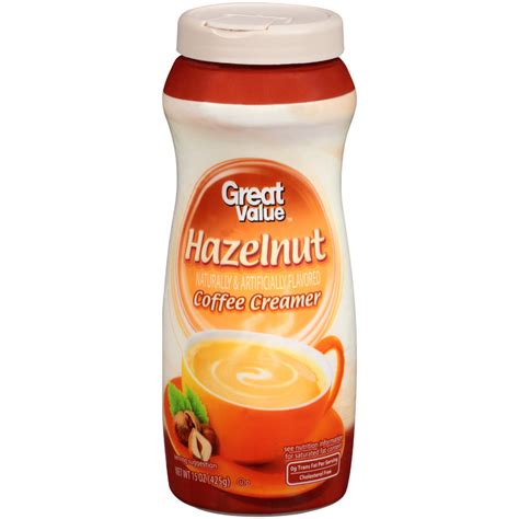 Creamer Coffee great value vanilla coffee creamer 15 oz walmart