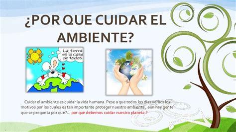 por que el planeta el medio ambiente