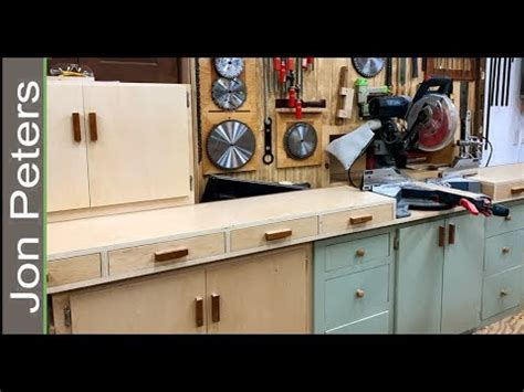 build  miter  station  storage cabinets youtube