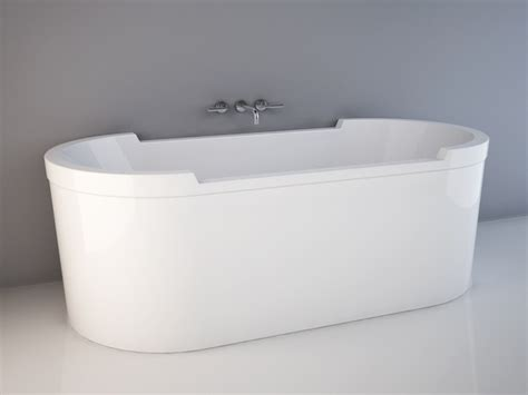 model in bathtub duravit starck tub 3d model 3d studio 3ds max autocad