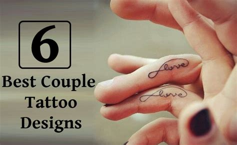best couples tattoo 6 best designs style presso