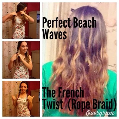 go to bed in french how to get beachy waves trusper