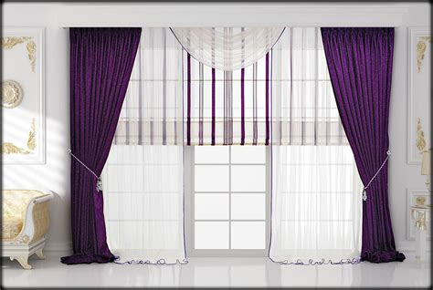 curtains decoration bedroom design bedroom violet drapery curtain ideas in