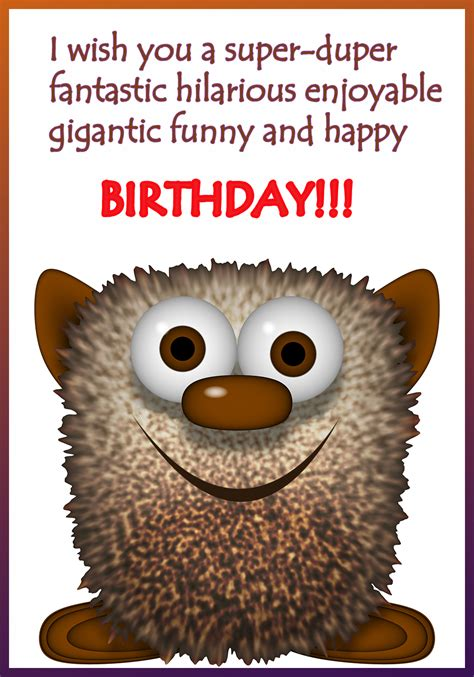 printable birthday cards funny funny printable birthday cards