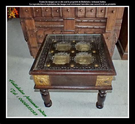 table basse salon indienne ezooq