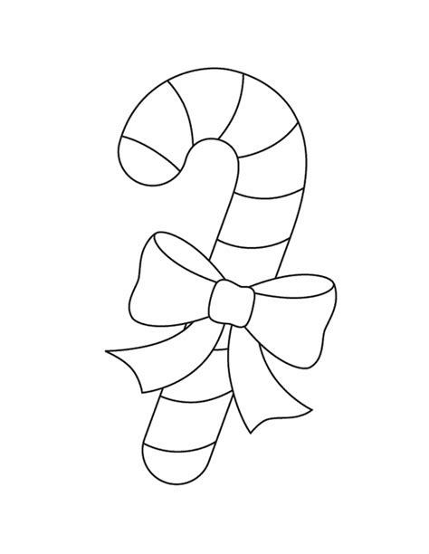 christmas coloring activity pages candy cane