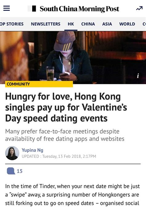 s day singles events south china morning post hungry for hong kong