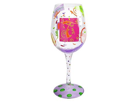 Decorated Wine Glass by Wine Cocktail Glasses Chagne Flutes For