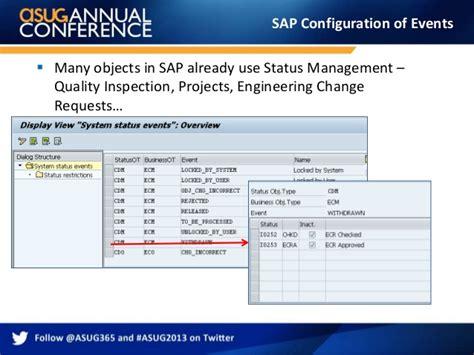 sap workflow status sap workflow events