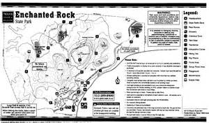 enchanted rock map