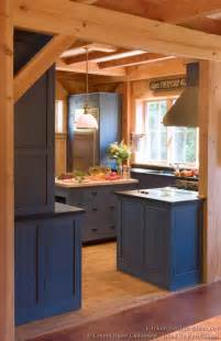 log kitchen island