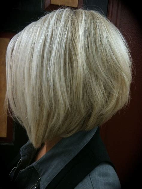 gray wedge haircuts stacked grey hairstyles short hairstyle 2013