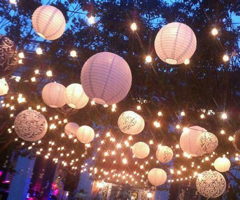paper lantern string lights 205 best wedding lights images on pinterest wedding