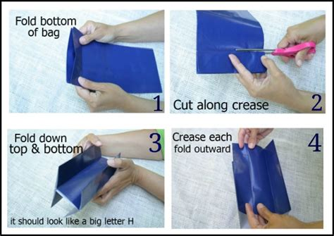 How To Make A Pouch Out Of Paper - how to make paper bag lanterns hoosier