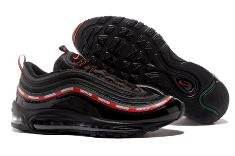 Nike Air Max 97 Undefeated White Sepatu Jalan Pria Sneakers Premium undefeated x nike air max 97 og black gorge green white speed for sale new jordans 2018