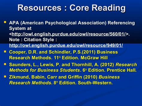 Research Methodology Notes For Mba Students by Mba2216 Business Research Project Course Intro 080613
