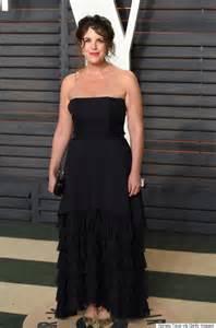 Vanity Fair Oscar In N Out Lewinsky Stands Out In Black At Vanity Fair Oscars