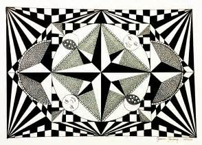 op art coloring pages kids coloring