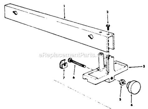 Craftsman 113221610 Parts List And Diagram
