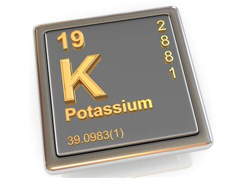 Potassium On The Periodic Table by New K Binding Agents Aim To Stop Hf Related Hyperkalemia