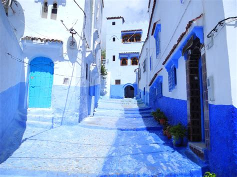 the blue city morocco chefchaouen the blue city of morocco
