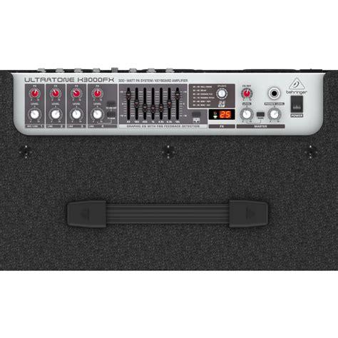 behringer k3000fx ultratone keyboard lifier belfield