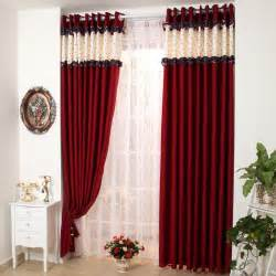 Black And Red Curtains For Bedroom Modern Living Room With Red Curtains Images