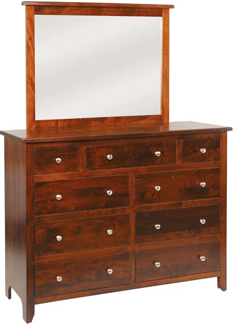 Classic Dressers by J M Woodworking Classic Shaker Dresser The Wooden Chair