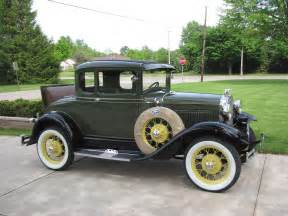 1930 model a ford rumble seat coupe model a ford