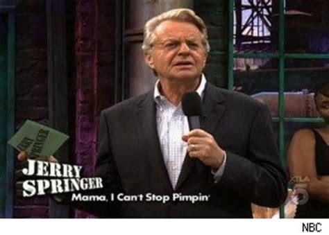 Jerry Springer Memes - singing in the shower