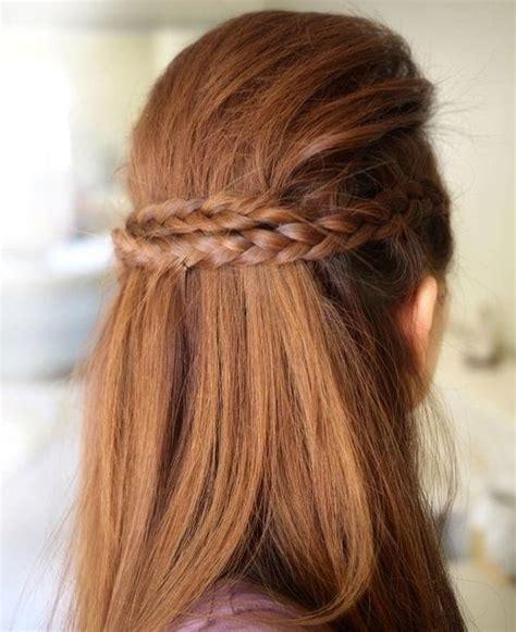 Half Braided Hairstyles by 20 Trendy Half Braided Hairstyles