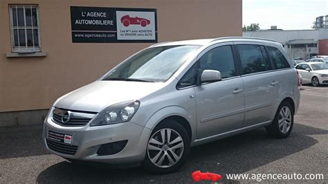 voiture opel zafira 7 places occasion