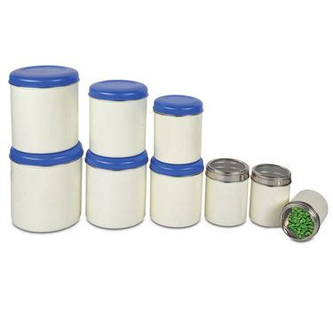 buy 9 pcs stainless steel storage set online at best price
