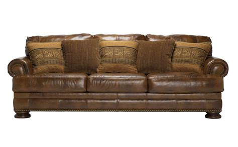 ashley furniture leather sofa a review on natuzzi chesterfield and ashley leather sofas