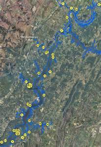 Bluewater Lights Localwaters Chickamauga Lake Maps Boat Ramps Tn