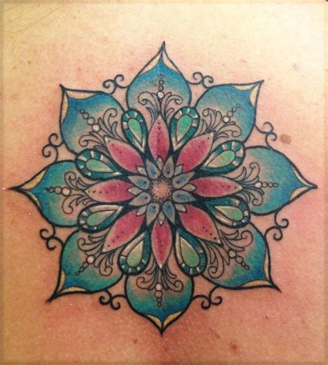 mandala flower tattoo tattoo mandalas tattoo