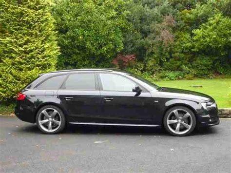 Audi A4 Avant Black Edition For Sale by Audi A4 Avant Tdi S Line Black Edition Car For Sale