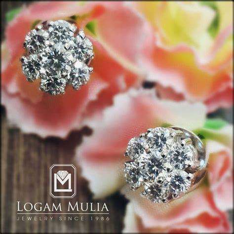 Berlian Medan Anting Padi Padi jual anting anting berlian wanita sda 20048 ddsd logammuliajewelry