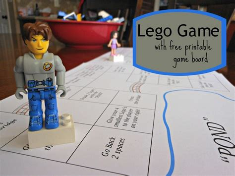 printable lego board games lego game with free printable game board