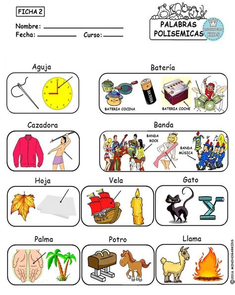 imagenes con palabras homofonas minihogar kids