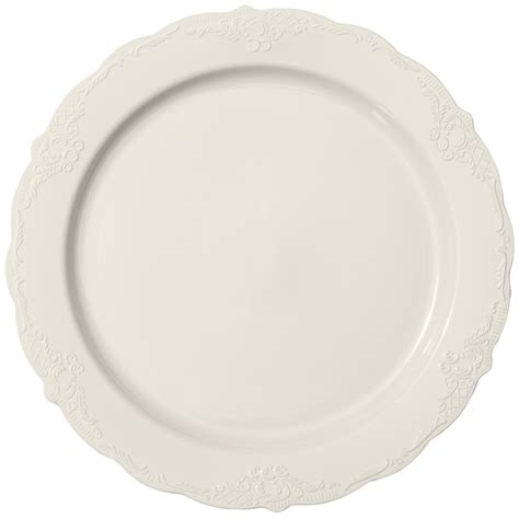 disposable buffet plates vintage ivory plastic buffet salad plates smarty