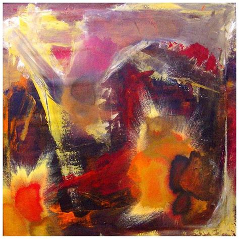 suzanne clune titled inferno abstract expressionism for