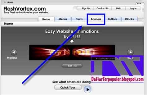 membuat banner iklan online cara membuat banner iklan flash keren siapa saja bisa