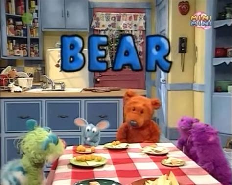 this is my house this is your life bear the big blue house wiki fandom powered by wikia