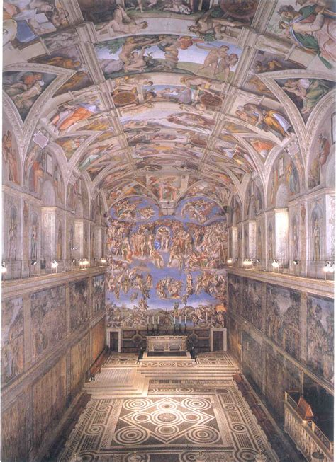 Michelangelo Sistine Ceiling by Image Links Chapter 18